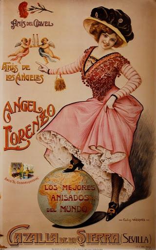 Publicidad antigua de Cazalla de la Sierra, Sevilla