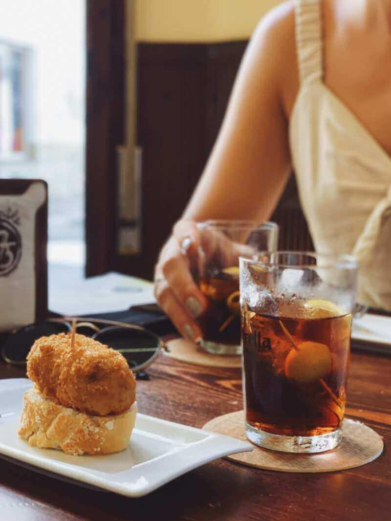 Tapas y degustación del vermut