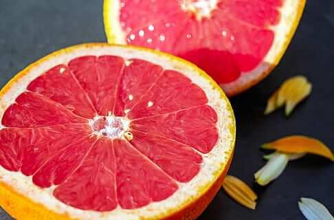 Ingrediente pomelo fresco
