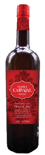 Botella vermouth rosso Bodegas Carvajal