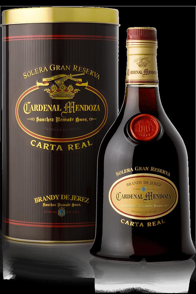 Botella Carta Real de Cardenal Mendoza