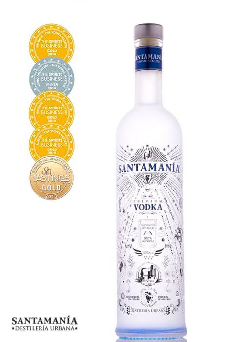 Santamania Vodka Premium
