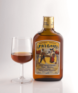 Botella de licor Frigola