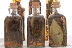 Hierbas aromáticas caseras licor de Ibiza